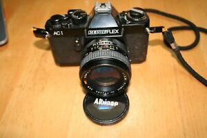 Revueflex AC1 mit Objektiv MC Super Albinar 28 mm 1:2,8 55mm Top Zustand