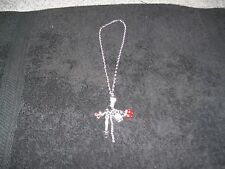 Juicy Couture Silver Toggle Necklace With 5 Charms