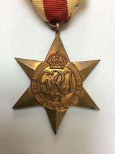 ORIGINAL WWII AFRICA STAR CAMPAIGN MEDAL