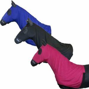 Equestrian Lycra Hood - Super Stretchy Anti Rub Fly Protective Horse Pony Hood