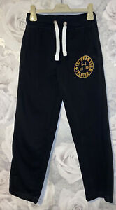 Boys Age 9-10 Years - M&S Navy Jogging Bottoms