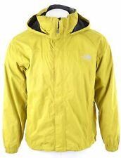 THE NORTH FACE Mens Windbreaker Jacket Size 38 Medium Yellow Nylon  EO03