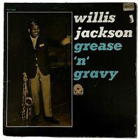 JAZZ Willis Jackson - Grease 'n' Gravy LP vinyl record RARE jazz 1963 Prestige