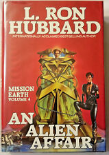 L. RON HUBBARD Mission Earth Volume 4 An Alien Affair hardcover book