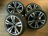 """20"""" Ruedas de Verano para BMW X3 X4 F25 F26 F01 F07 5x120 433 style"""