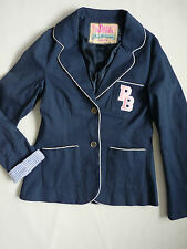 Women's Paul's Boutique  Fitted jacket blazer navy blue color size  UK S BNWOT
