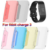 Protector Silicone Protective Shell Cover TPU PC Case For Fitbit Charge 3