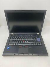 "Portátil profesional Lenovo Thinkpad T410 14"" Intel i5 4GB 500GB Win10 Webcam"