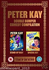 PETER KAY DOUBLE BUMPER COLLECTION BOX SET LIVE STAND UP COMEDY SHOW DVD New UK