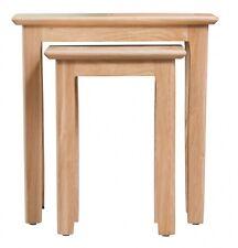 NORMANDY OAK NEST OF 2 TABLES / COFFEE TABLE / END UNIT / 50CM X 32CM X 50CM
