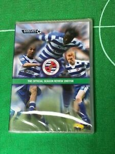 READING F.C. THE OFFICIAL SEASON REVIEW 2007/08 DVD NEW AND SEALED 3 DISC SET