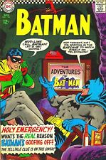 Batman comic cover 1966  Retro Metal Tin Sign Poster Plaque Garage Wall Decor A4