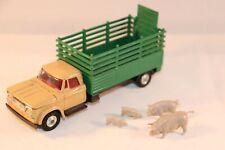 "Corgi Toys 484 Dodge ""Kew Fargo"" live stock with animals near mint condition"