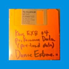 korg EXB 04 Dance Extreme   PRELOAD FLOPPY disc Performance Data disk