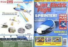 QUIET & ELECTRIC FLIGHT INTERNATIONAL MAGAZINE 2005 NOV HAWK 200 FREE PLAN