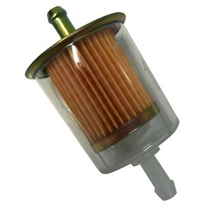 """5 Pack of Clear Universal Inline Fuel Filter 5/16"""" - G2 GF11 33032 F20011"""
