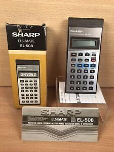Sharp El-508 ELSI MATE Scientific Calculator - Boxed with manual - Excellent