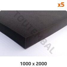 Plaque mousse PU 26 kg/m³ 1000 x 2000 x 20 mm (par 5)