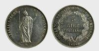 s546_9) MILANO - Governo Provvisorio 1848 -  5 Lire 1848