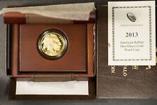 2013 W $50 Gold 1 oz AMERICAN BUFFALO - PROOF ** OGP & CoA ** SPOT FREE Lot#R142
