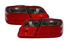 2 FEUX ARRIERE LED MERCEDES CLASSE E W210 55 50 AMG NOIR ROUGE CRISTAL