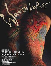 RARE JAPANESE BOOK,TATTOO,IREZUMI,SHISEI,WANZAKURE,HORIYOSHI Ⅲ,NEW