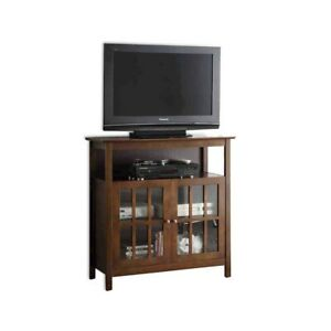 Convenience Concepts Big Sur Highboy TV Stand, Espresso - 8066070