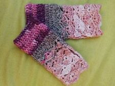 Unique handmade Dragon Fingerless Gloves Wrist Warmers New Pink