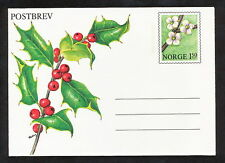 SMAA_164 Norway STATIONERY COVER FLOWERS Combine Shipping