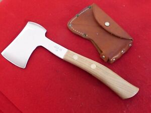 Case XX USA 1965-69 era mint Hatchet hand axe & sheath