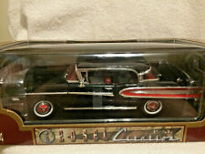 Die-Cast 1958 Road Legends Black Edsel Citation 1.18 Scale