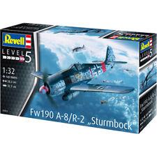 "Revell Fw190 A-8/R-2 ""Sturmbock"" German Plane Model Kit - Scale 1:32 - 03874"