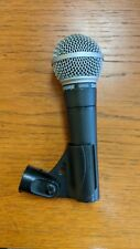 Shure SM58 Dynamic Microphone used