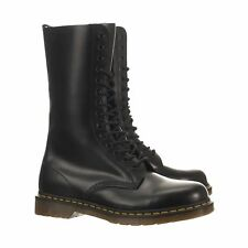💥 Dr. Martens Doc 14 Eye Black Leather 1914 Boots UK 9 US 10 💥