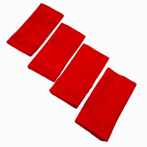 Kate Spade New York All Wrapped Up Red Ribbon Cotton Napkins Set of 4