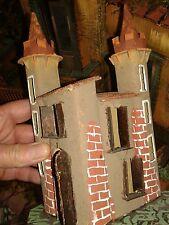Casetta castello minuterie presepe miniature nativity scene pastori