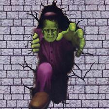 Halloween Horror Decoration Scene Setter Break Out Add On Frankenstein's Monster