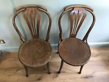 22 X Wooden Chairs - Restaurant/ Cafe/ Dining/ Kitchen/Bistro