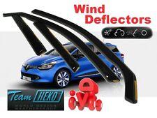 RENAULT CLIO IV GRANDTOUR  2013 -  5.doors Wind deflectors 4.pc set HEKO 27187