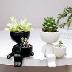 Humanoid Design Ceramic Plant Pot Crafts Planter Flower Vase Home Decor Stylish