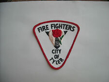 """/""""Vintage/""""  Fire Fighters City of Tyler  Texas Patch"""