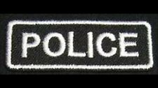 POLICE Iron On Patch/Badge for Officer Chief Cop Uniform T-Shirt Hat Cap Bag 25P