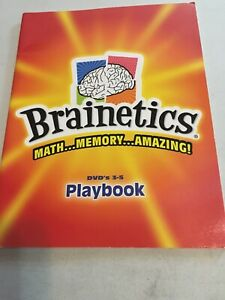 Brainetics Playbook 3-5.   Math....Memory....Amazing.