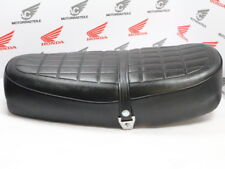 HONDA CB 250 350 K k4 SEAT reproduction with plastic base and logo on the End