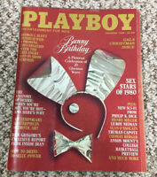 Playboy magazine Dec. 1980 centerfold intact Bunny Birthday Gala Christmas Issue