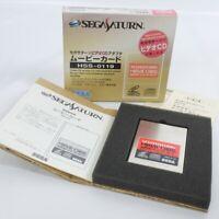 Sega Saturn MOVIE CARD Boxed HSS-0119 Victor Hitachi JAPAN Game Ref 0836