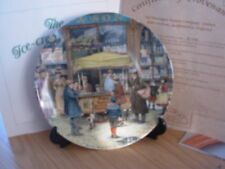 DAVENPORT CHINA PLATE THE ICE CREAM SELLER CRIES OF LONDON BOXED CERTIFICATE 33