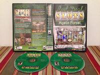 Reel Deal Slots: Mystic Forest (PC, 2006) Case & discs