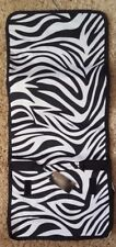 NWT ZEBRA Makeup Cosmetic Toiletry Folding Travel Bag Hanging Pouch NEW MARY KAY