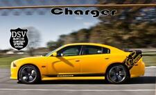 Graphics Racing Line Sticker Car Side Stripe Decal for Dodge Charger Challenger